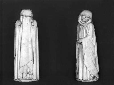 Two Mourners, from the Tomb of Duc Jean De Berry (1340-1416) Before 1438