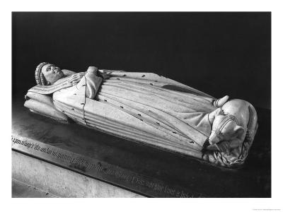 Effigy of Duc Jean De Berry (1340-1416) Count of Poitiers, 1416-38
