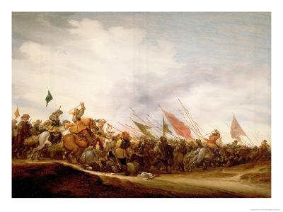 A Battle Scene, 1653