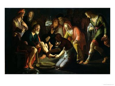 Christ Washing the Disciples' Feet, 1623