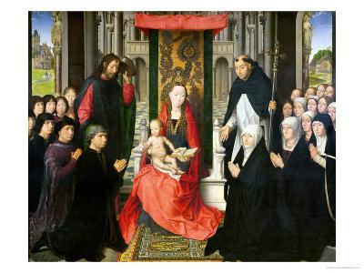 The Virgin and Child with St. James and St. Dominic Presenting the Donors and Their Family