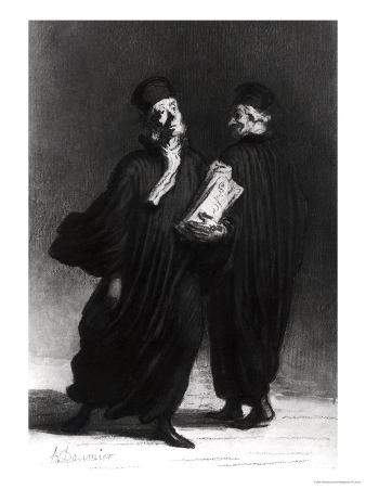 Two Lawyers, circa 1862