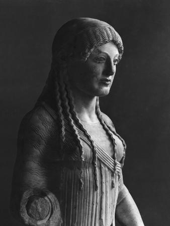 The Euthydikos Kore, from the Acropolis, circa 490 BC