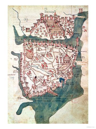 Plan of Constantinople