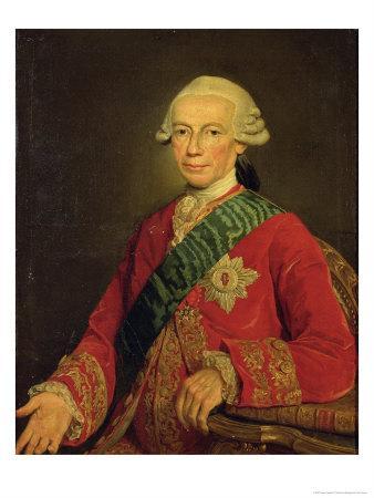 Count Claude-Louis-Robert De Saint-Germain (1707-78) 1777