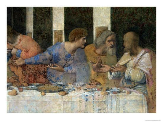 The Last Supper, 1495-97 (Post Restoration) Giclee Print ... Da Vinci Last Supper Restored