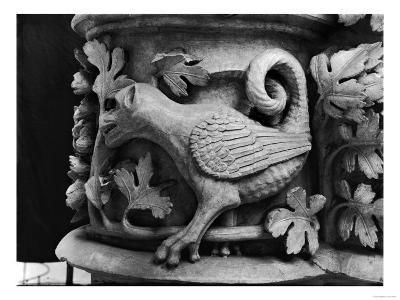 Basilisk, Capital from Cathedral of Notre Dame at Reims (Plaster Cast from Stone)