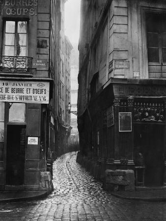 Rue Tirechape, from Rue St. Honore, Paris, 1858-78