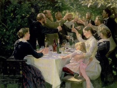 Hip Hip Hurrah! Artists' Party at Skagen, 1888