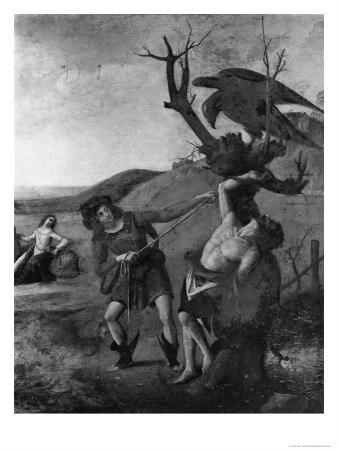 The Myth of Prometheus, circa 1515