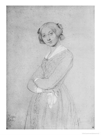 Portrait of Louise D'Haussonville, 1842