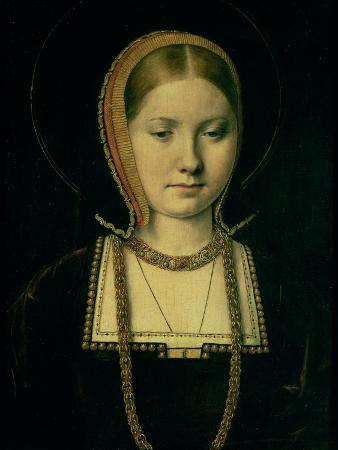 Portrait of a Woman, Possibly Catherine of Aragon (1485-1536), circa 1503/4