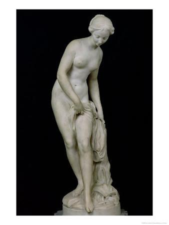 Bather Getting into a Bath, 1757