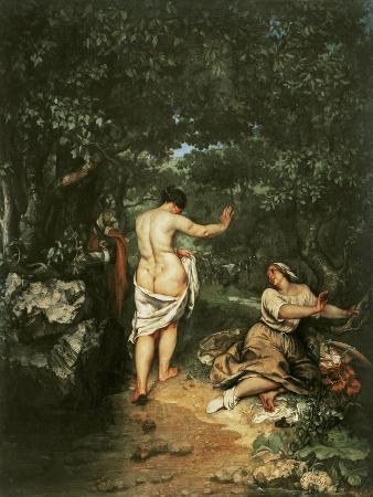 Les Baigneuses, 1853