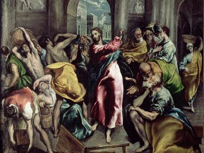 Christ Driving the Traders from the Temple, circa 1600