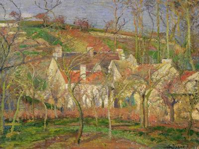 The Red Roofs, or Corner of a Village, Winter, 1877