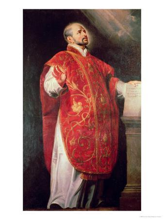 St. Ignatius of Loyola (1491-1556) Founder of the Jesuits