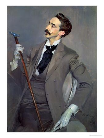 Count Robert De Montesquiou (1855-1921) 1897