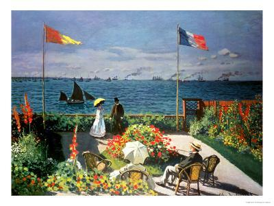 The Terrace at Sainte-Adresse, 1867
