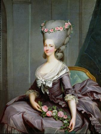 Marie-Therese De Savoie-Carignan (1749-92) Princess of Lamballe