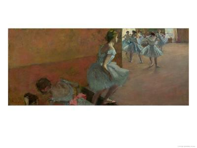 Dancers Ascending a Staircase, circa 1886-88