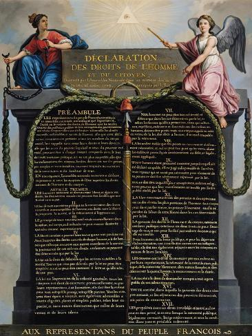 declaration of the rights of man and citizen summary