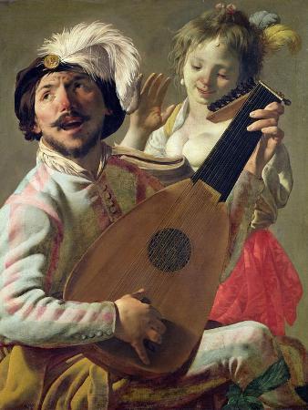The Duet, 1628