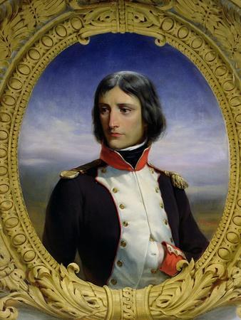 Napoleon Bonaparte (1769-1821) as Lieutenant Colonel of the 1st Battalion of Corsica, 1834