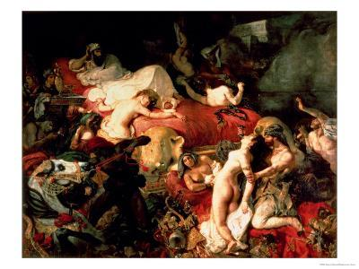 The Death of Sardanapalus, 1827