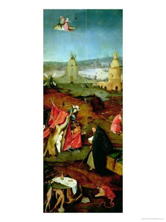 Temptation of St. Anthony (Right Hand Panel)