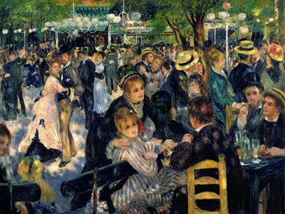 Ball at the Moulin De La Galette, 1876