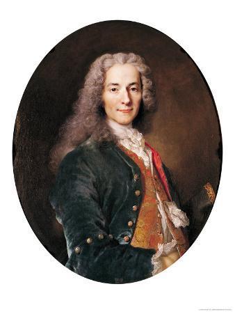 Portrait of Voltaire (1694-1778) Aged 23, 1728