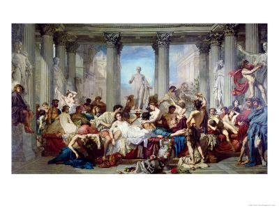 The Romans of the Decadence, 1847