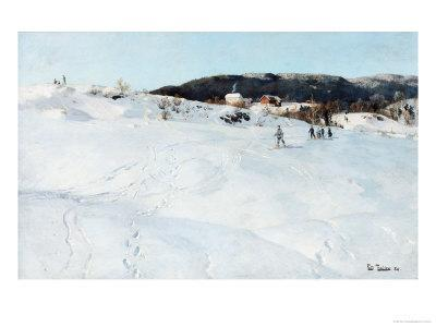 A Winter's Day in Norway, 1886