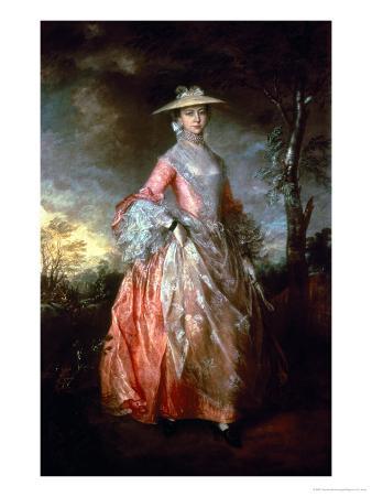 Mary, Countess Howe, circa 1763-4