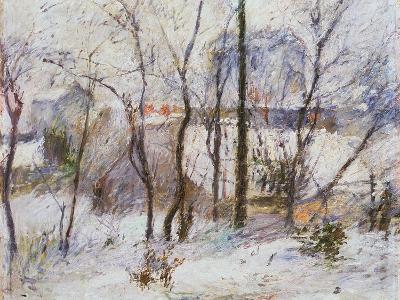 Garden under Snow, 1879