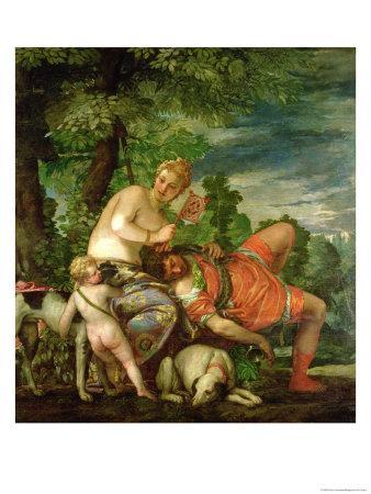 Venus and Adonis, 1580