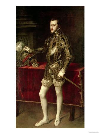 King Philip II (1527-98) 1550