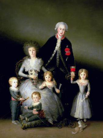 The Duke of Osuna and His Family, 1788