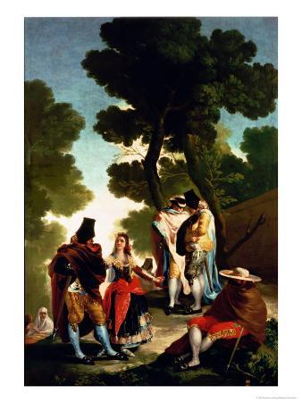 A Maja and Gallants, 1777