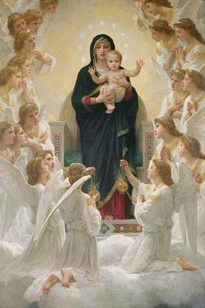 The Virgin with Angels, 1900