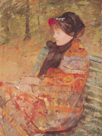 Portrait of Mlle C. Lydia Cassatt, 1880