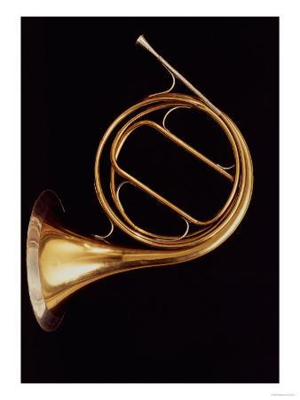 French Horn, by Marcel Auguste Raoux, Paris, circa 1826