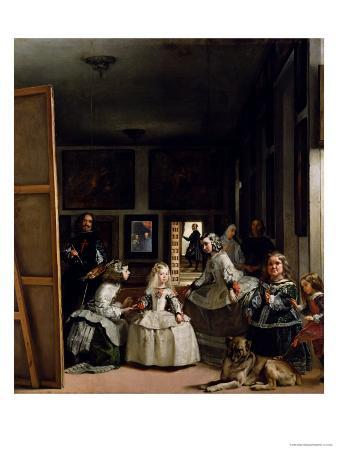Las Meninas or the Family of Philip IV, circa 1656