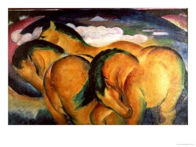 Little Yellow Horses, 1912