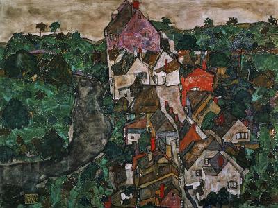 Landscape at Krumau, 1910-16