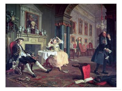Marriage a La Mode II, Shortly after the Marriage, Before 1743