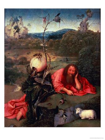 St. John the Baptist in Meditation
