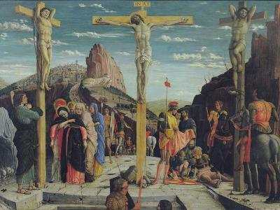 Calvary, Central Predella Panel from the St. Zeno of Verona Altarpiece, 1456-60