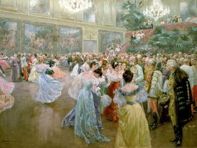 Court Ball at the Hofburg, 1900